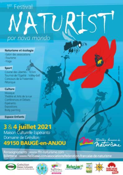 Festival naturiste à Baugé