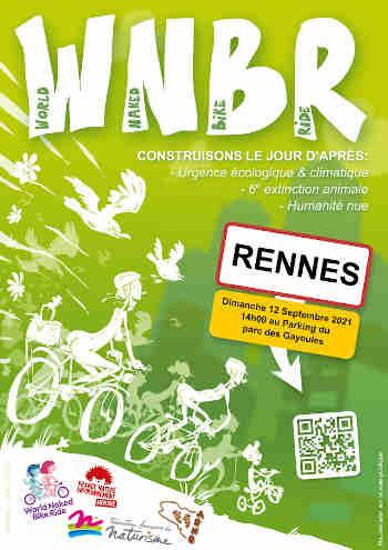 le WNBR pour la seconde fois à Rennes le 12 septembre 2021